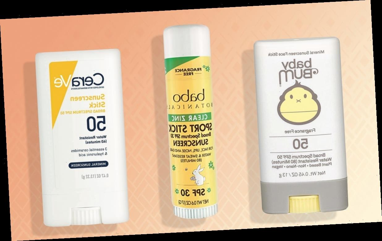 The 5 Best Sunscreen Sticks
