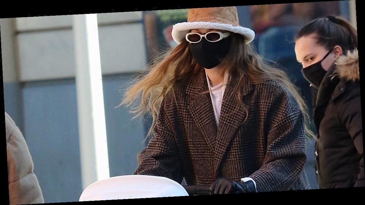 Hello, Gigi Hadid's Furry Bucket Hat —I Needed You, Like, Yesterday