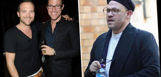 Will Young arrives at inquest of troubled twin brother who fell to death from bridge after depression struggle