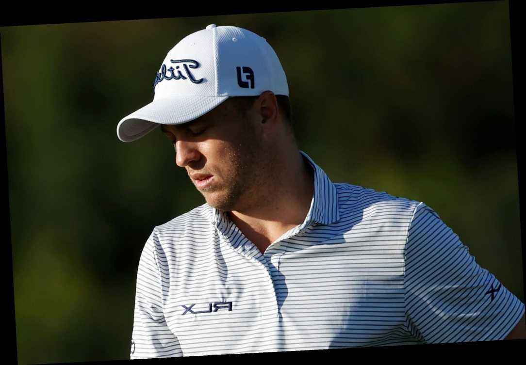 World golf No 3 Justin Thomas sorry and 'embarrassed' after using homophobic slur when missing a putt