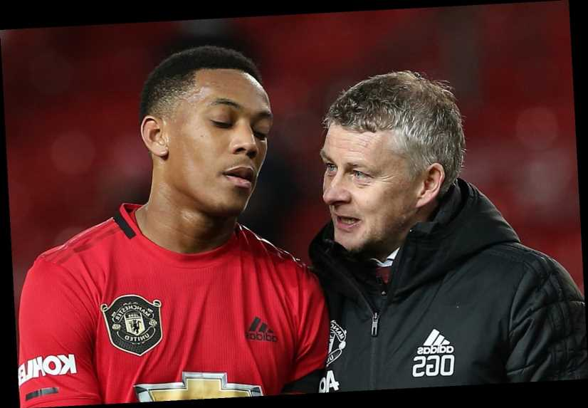 Solskjaer slams 'disgusting' racist abuse of Man Utd duo Axel Tuanzebe and Anthony Martial on social media