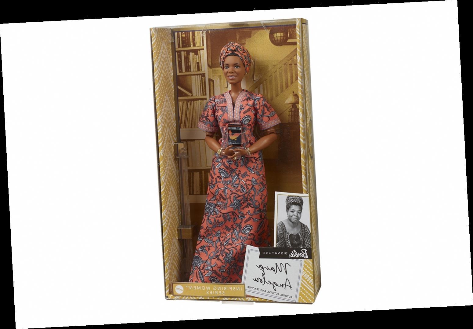 Mattel Unveils Barbie Doll Honoring Maya Angelou Ahead of Black History Month