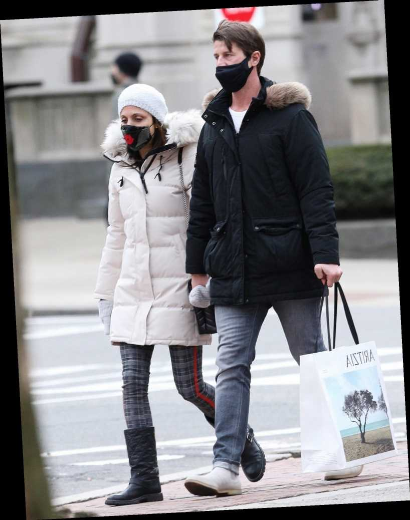 Back On? Bethenny Frankel Spotted Holding Hands with Ex Paul Bernon in Boston