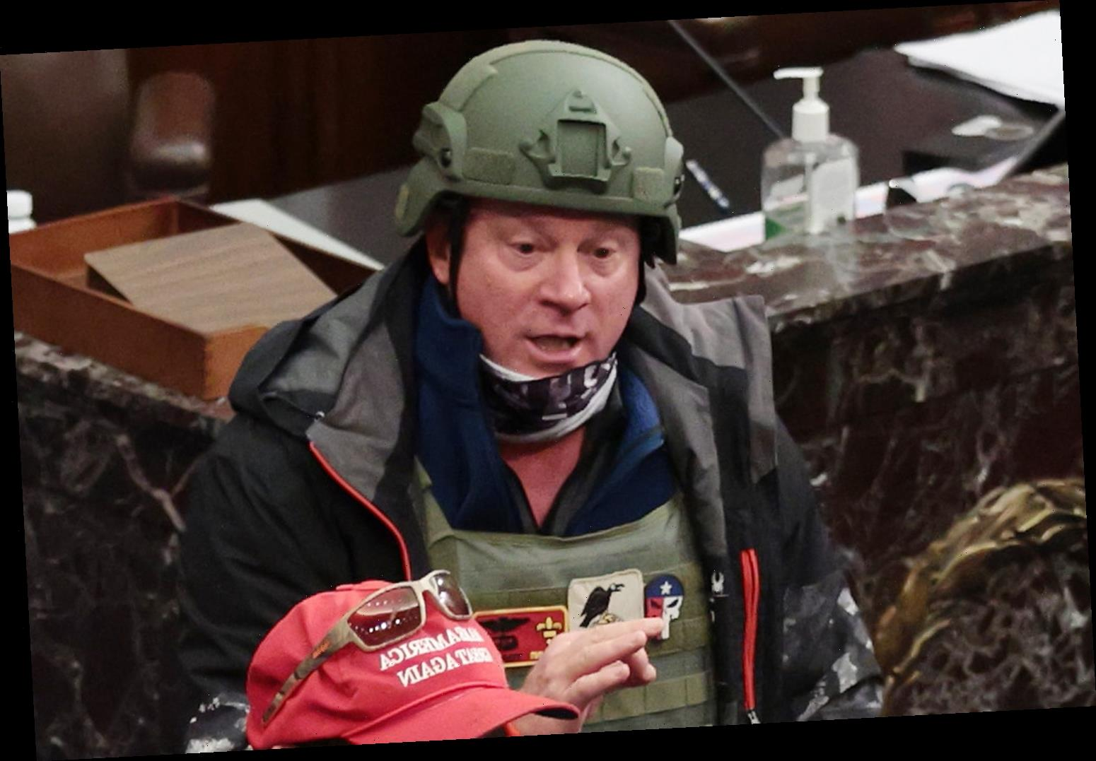 Capitol Rioter Spotted in Chamber with Zip Ties Is Arrested After Ex-Wife Calls FBI