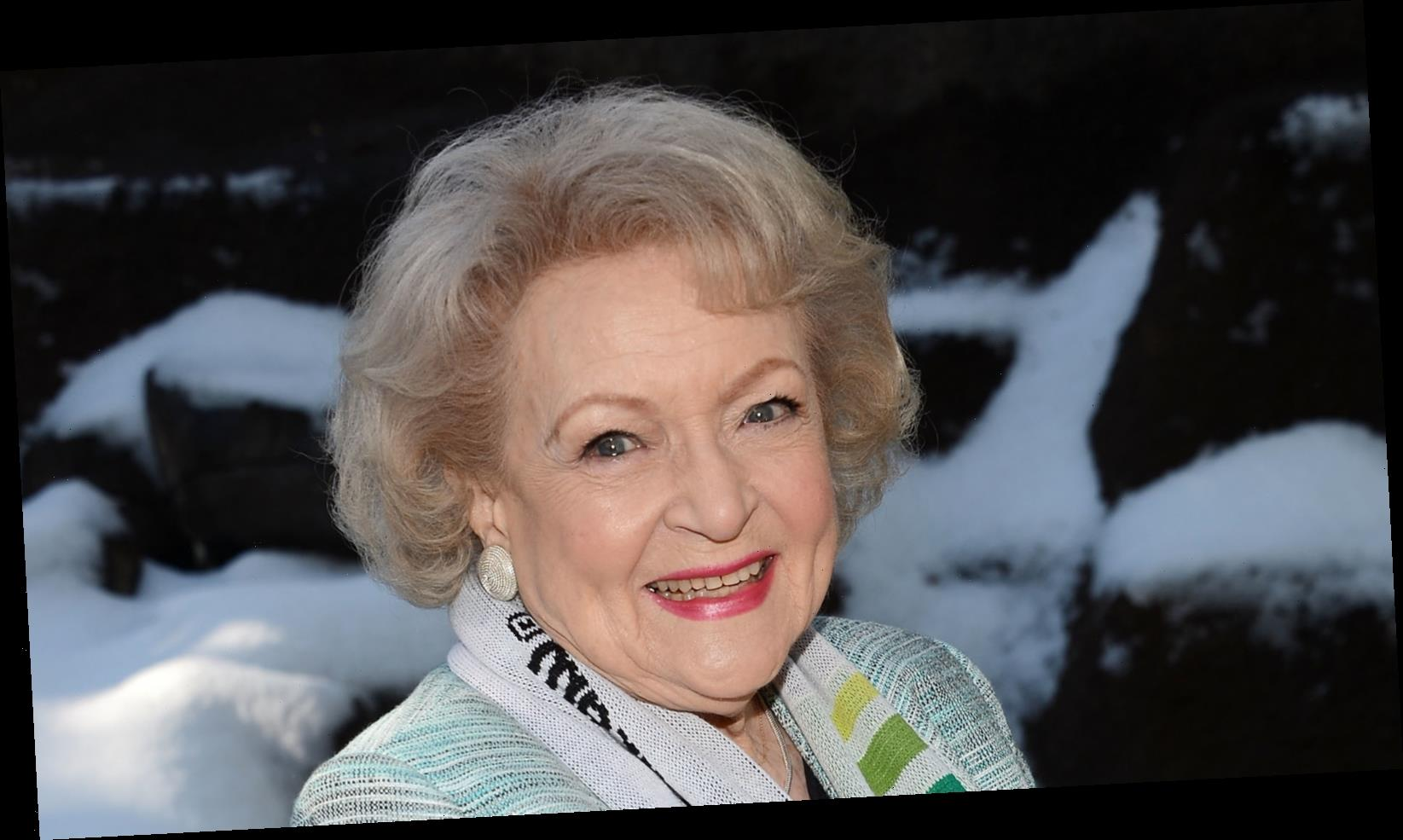 Betty White Swears By These Two Foods For A Long Life