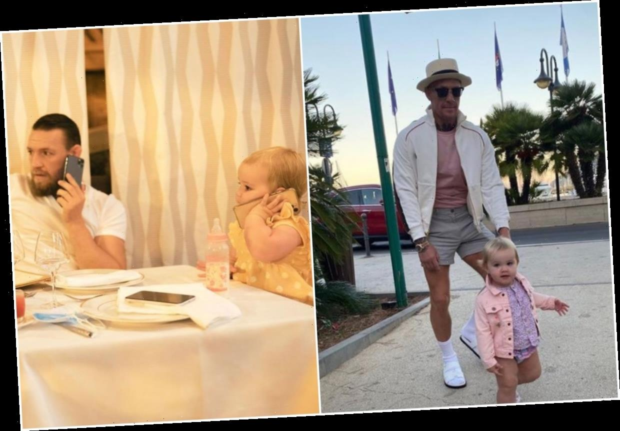 Conor McGregor shares adorable snaps with daughter Croia on Instagram as UFC superstar celebrates her second birthday