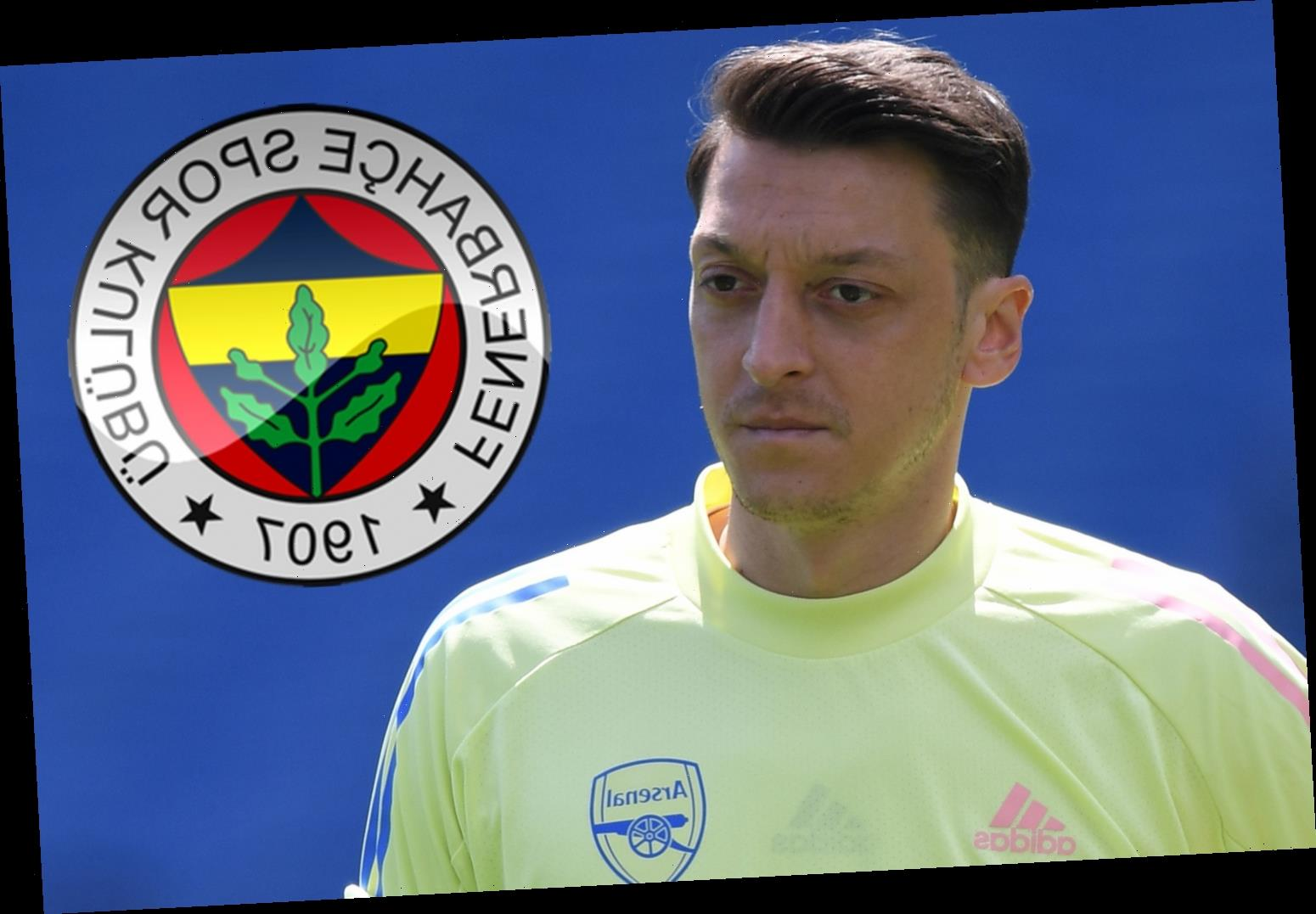 Mesut Ozil's Arsenal future to be decided in matter of days says Arteta with outcast 'to wear No67 shirt at Fenerbahce'
