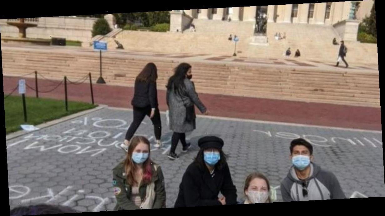 Columbia University students are holding a tuition strike, refusing to pay for remote learning during the pandemic