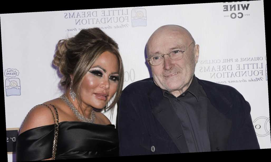 Phil Collins' ex Orianne Cevey to auction off musician's records