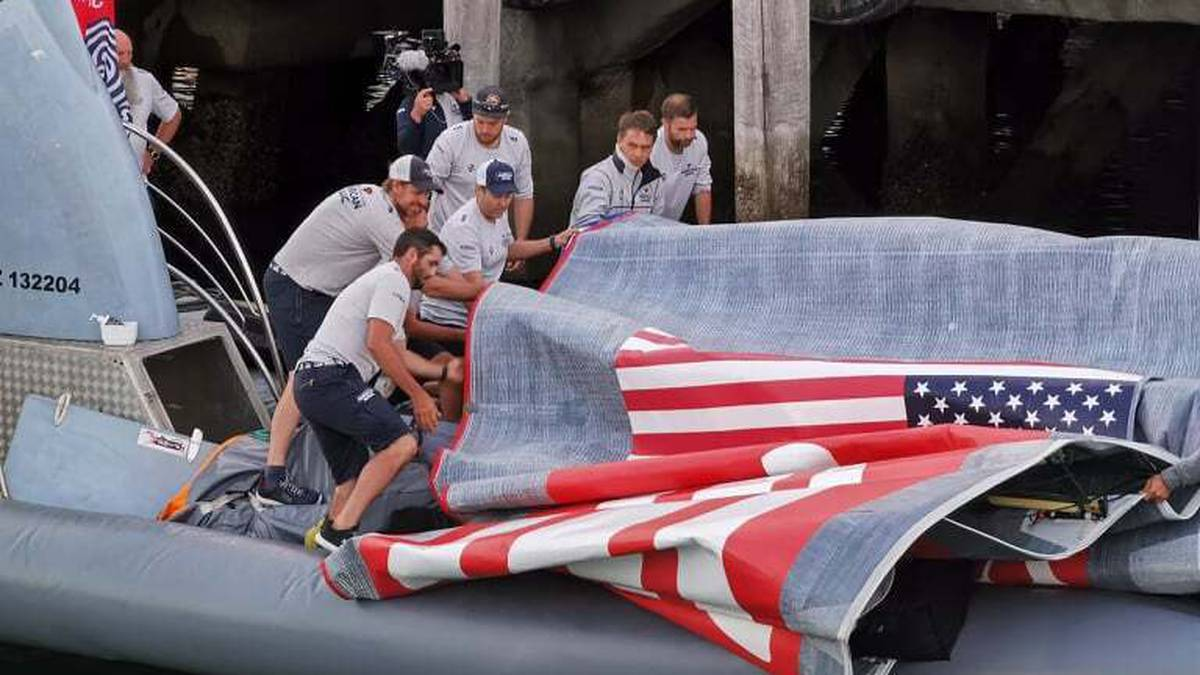 America's Cup 2021: Michael Burgess – The eerie call moments before dramatic capsize of American Magic