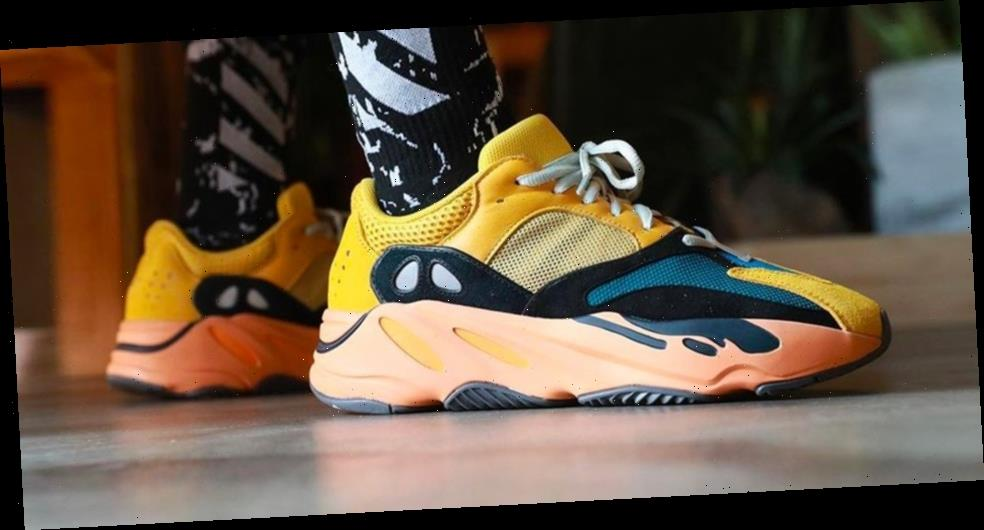 """Take an on-Foot Look at the adidas YEEZY BOOST 700 """"Sun"""""""