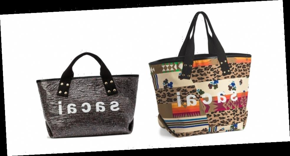 sacai's SS21 Tote Bags Include Patchwork Ode to Hank Willis Thomas