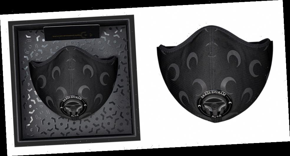 Marine Serre and R-PUR Unveil Black Moon Reflective Face Mask Collab