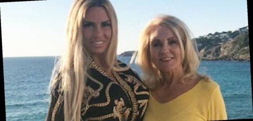 Katie Price's mum Amy says she's in 'last couple of years' of life and would die if she caught a cold