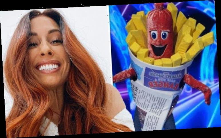 Stacey Solomon protests she's 'not off to put Sausage costume on' for The Masked Singer