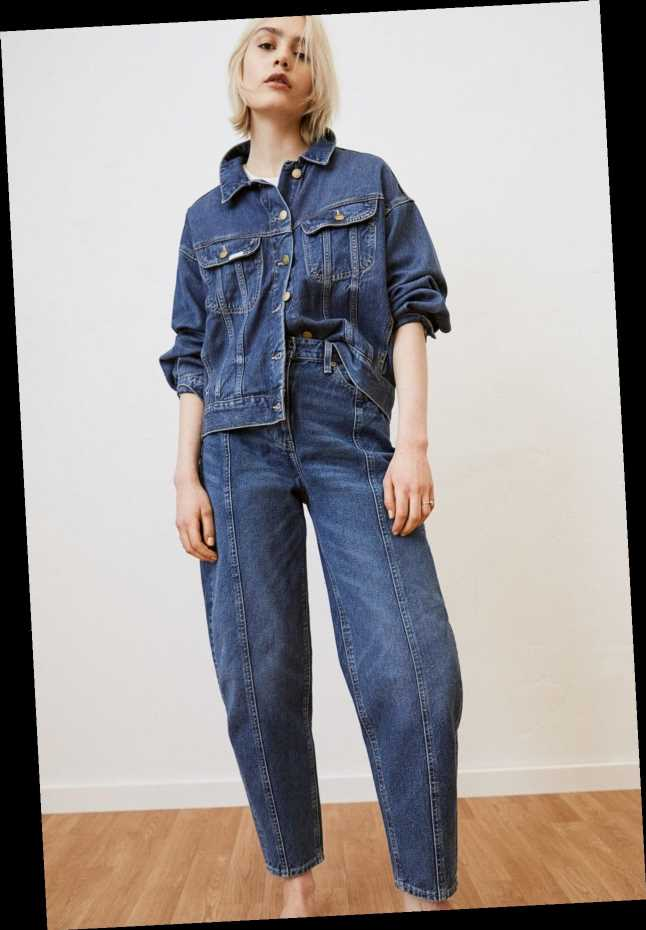 The Lee x H&M Collaboration Is A Denim-Filled, Sustainable Dream