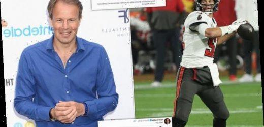 ITV presenter Tom Bradby confused AGAIN with Super Bowl star Tom Brady