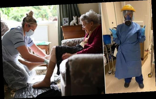 Care home staff left without PPE during first Covid wave, MPs hear