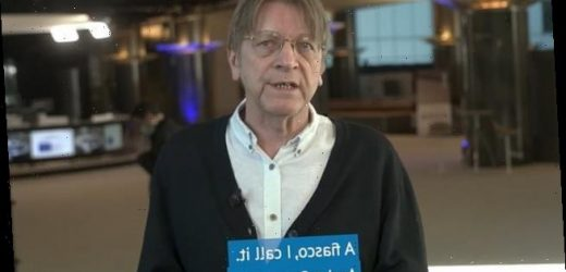 EU vaccine rollout is 'a fiasco' says former Belgian PM Verhofstadt