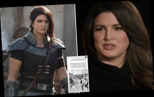 Gina Carano says Disney planned to let her go BEFORE Holocaust post