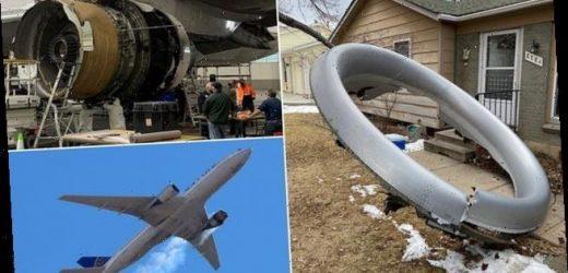 Fractured fan blade is blamed for Denver air explosion