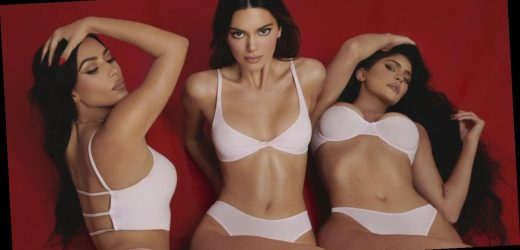 Hot Damn, Kendall and Kylie Jenner Star in Kim Kardashian's New Skims V-Day Campaign