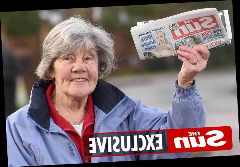 Grandma, 82, made more than 50,000 deliveries as Britain's oldest papergirl