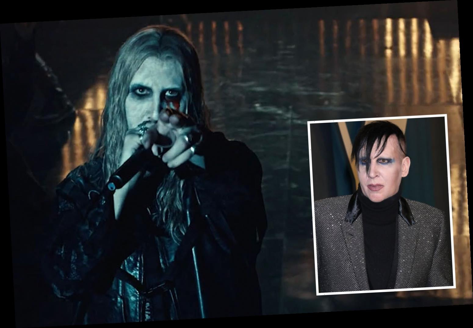 Marilyn Manson transformed into murderous rock star for role on American Gods before being axed