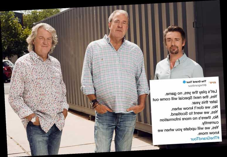 The Grand Tour leaves fans 'pulling their hair out' with VERY cryptic post about Scotland special