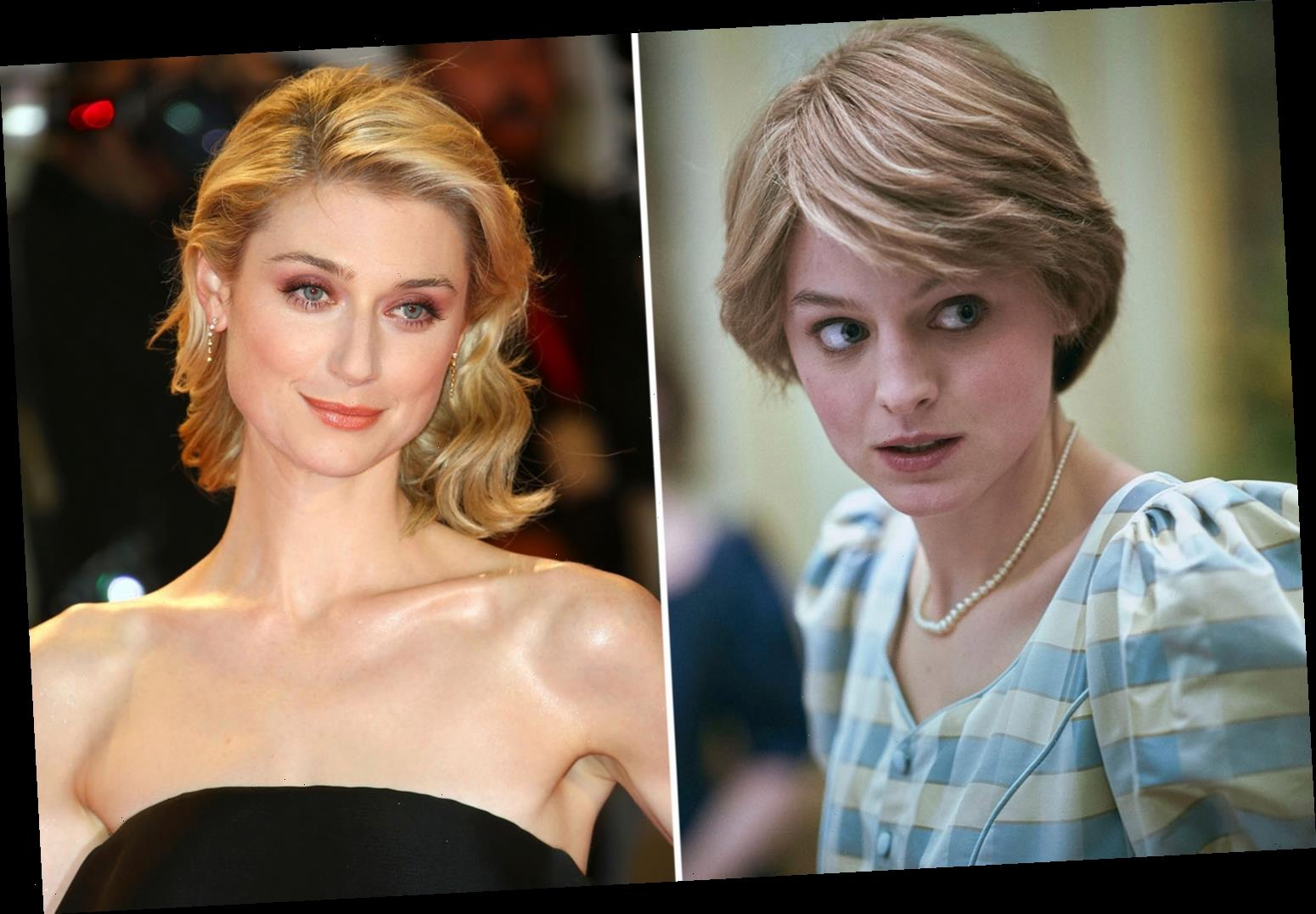 The Crown's Emma Corrin offers bleak words of advice to Princess Diana replacement Elizabeth Debicki