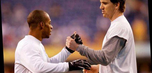 Victor Cruz recalls shielding Eli Manning from wild Super Bowl fans