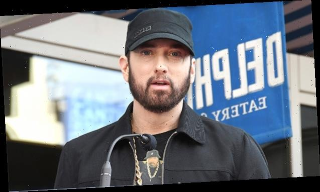 Eminem's Daughter Hailie Jade Wears Crop Top With Matching Cardigan & Pants In Sunny Selfie