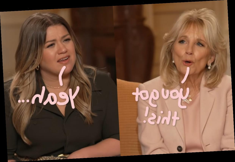 First Lady Dr. Jill Biden Gives Kelly Clarkson Some Expert Advice On Healing After A Divorce