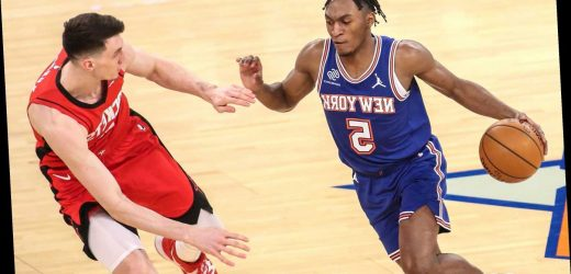 Immanuel Quickley, Derrick Rose lead Knicks to easy win over Rockets