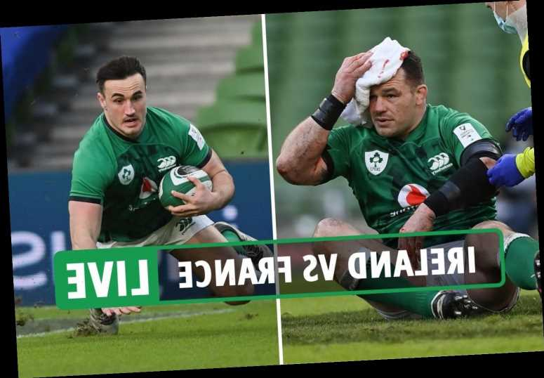 Ireland 13-15 France rugby LIVE RESULT: Kelleher try not enough as French secure first win in Dublin in 10 years