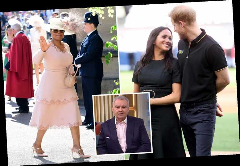 This Morning's Eamonn Holmes slams Meghan Markle and Prince Harry over Oprah interview as he brands it an 'advert'