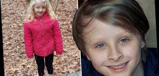 Boy, 10, drowns after jumping in frozen pond to save sister, 6, who fell through the ice as storm sweeps South