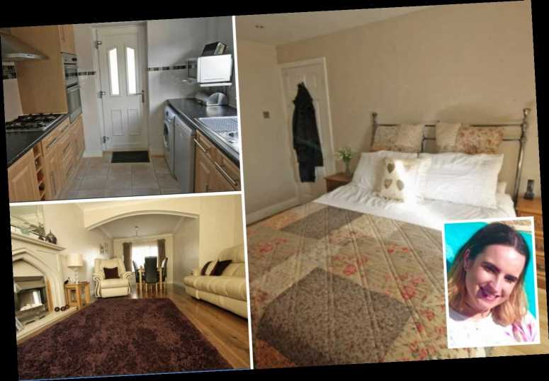 I spent £2.5k & 4 years turning my boring beige rental home my own multicoloured paradise