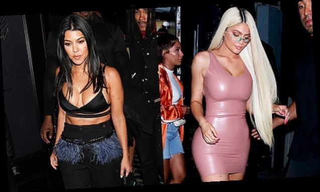 Kylie Jenner Rocks Same Barely-There Bikini Sister Kourtney Kardashian Wore Last Week