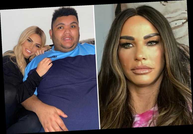 Katie Price says sick trolls 'get a kick' out of being named and shamed for making vile Harvey comments