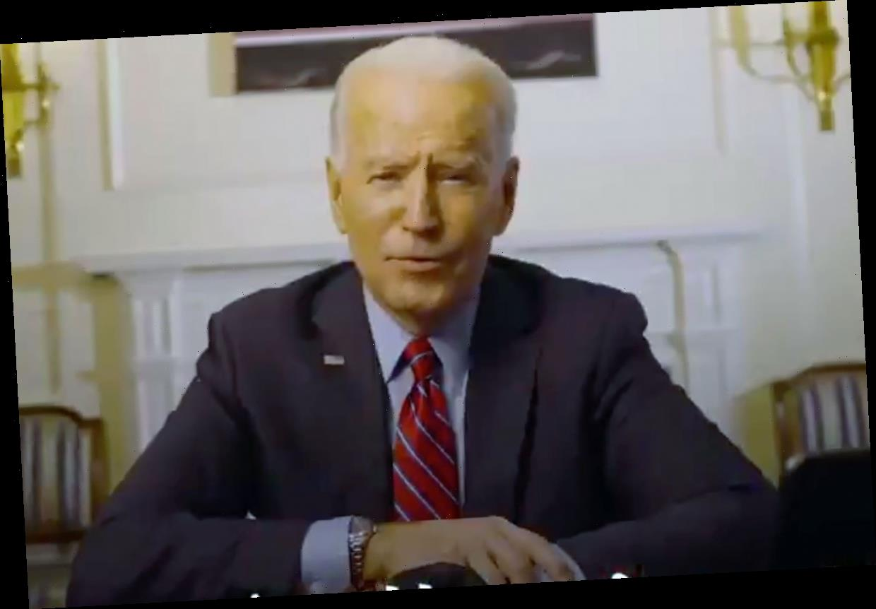 Biden says he's 'committed' to $1,400 stimulus check and says they will come 'as soon as Congress passes my legislation'