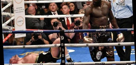 Deontay Wilder names three best KOs… and includes Tyson Fury who he thinks should have been counted out in first fight