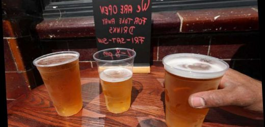 Pubs WILL be able to serve takeaway pints on April 12 when beer gardens open