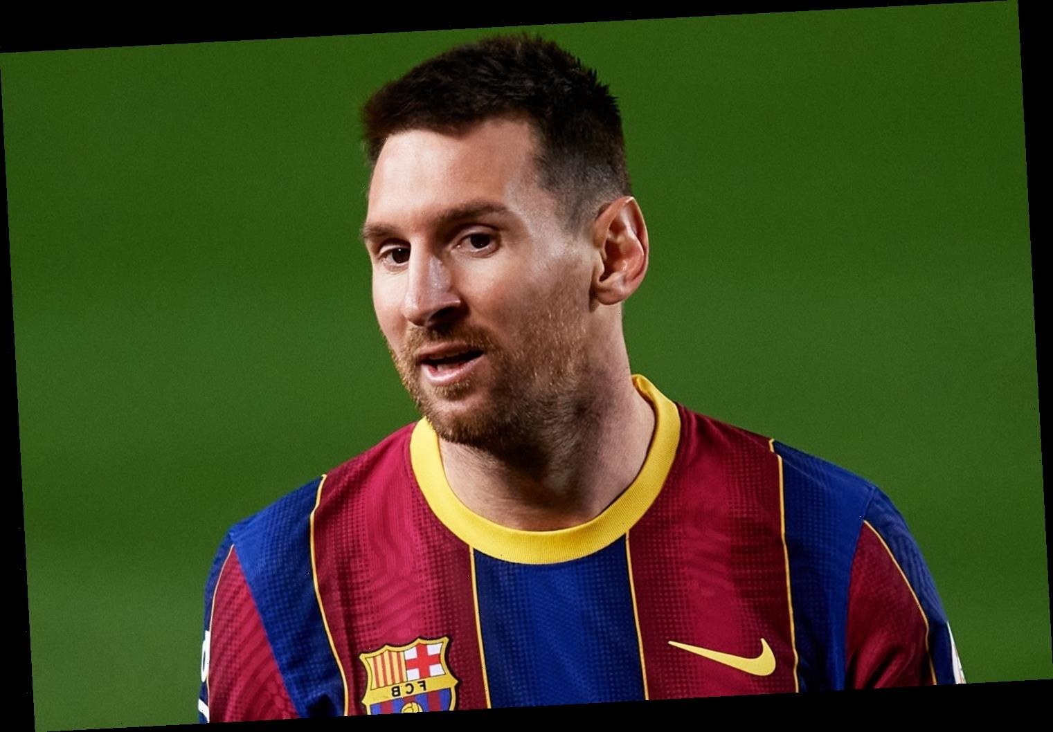 Lionel Messi will receive £35m bonus from Barcelona even if he QUITS for Man City or PSG transfer in summer