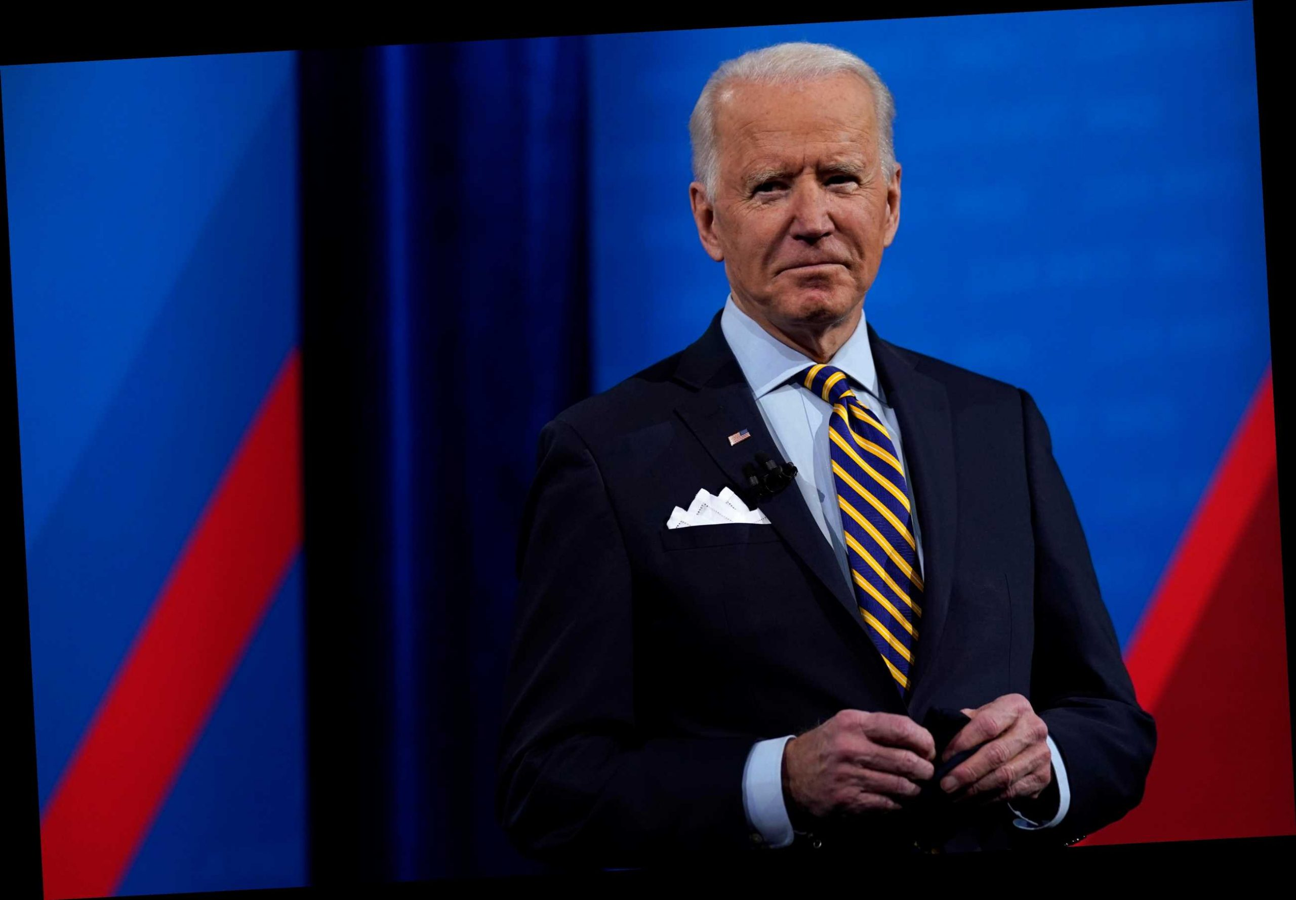 Biden says he's been called by all living ex-presidents 'but one' in veiled attack on 'the former guy' Trump