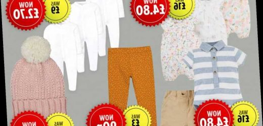 Boots launches up to 70% off sale on Mothercare baby clothing