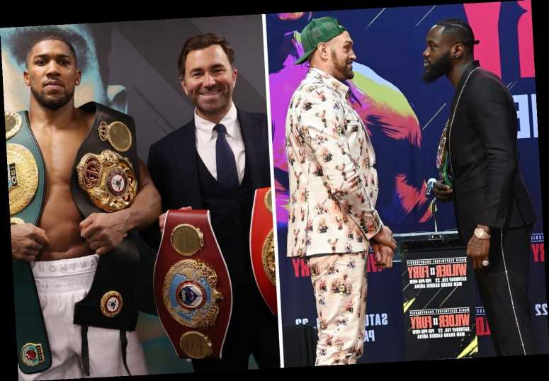 Anthony Joshua vs Tyson Fury won't be derailed by Deontay Wilder's legal action, says 'confident' Eddie Hearn