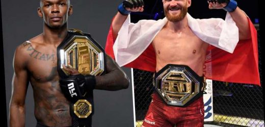 UFC champ Jan Blachowicz vows to end Israel Adesanya's LHW title bid with a stunning head kick KO
