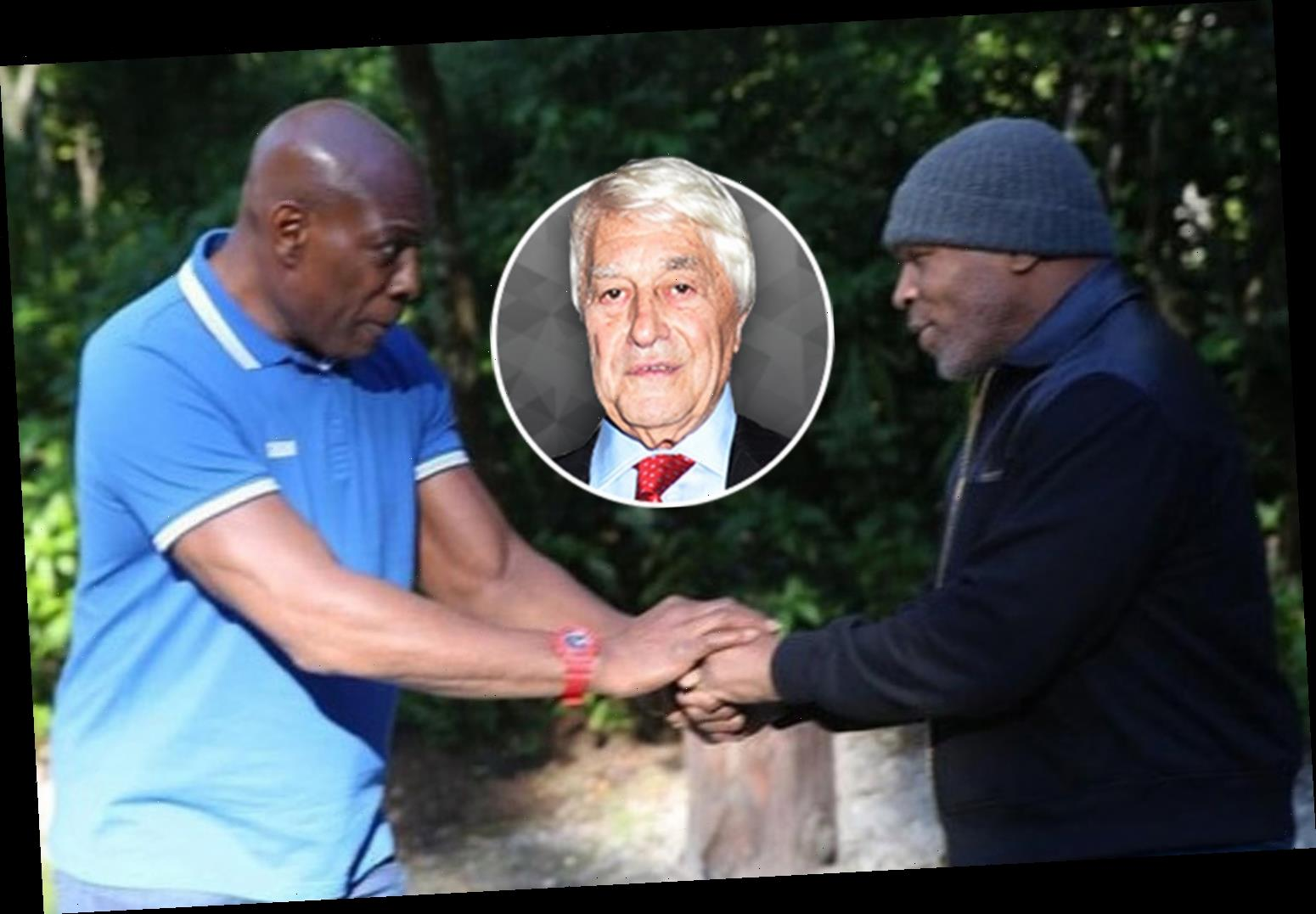Mike Tyson and Frank Bruno seem to have found peace at last and there's genuine warmth between pair