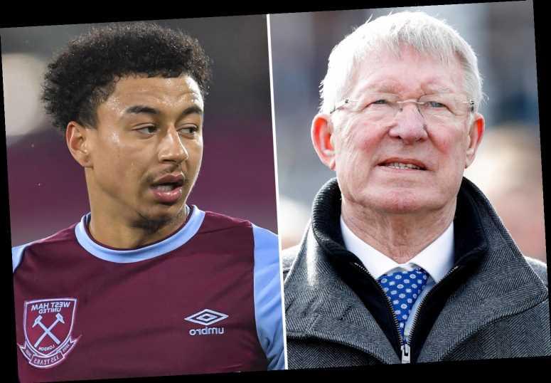 Man Utd legend Sir Alex Ferguson sent good luck message to Jesse Lingard after West Ham transfer, reveals David Moyes
